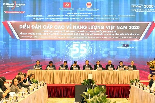 Khai mạc Diễn đàn cấp cao Năng lượng Việt Nam 2020