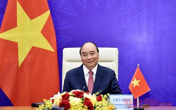 Chủ tịch nước Nguyễn Xuân Phúc tham dự và phát biểu tại Hội nghị thượng đỉnh về khí hậu
