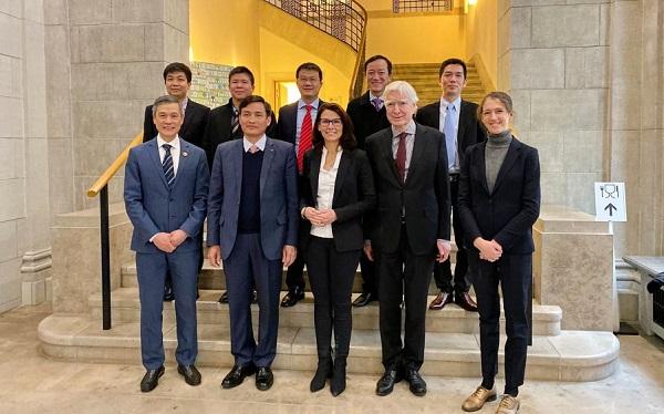 Bộ Tài nguyên và Môi trường tăng cường hợp tác về khoa học và công nghệ với các đối tác phát triển ở Châu Âu